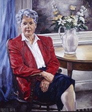 Artwork Frizzell D Portrait of Dame Catherine Tizard