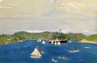 Artwork Lighley R Whangarei Regatta